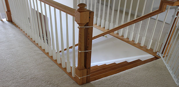 Installing a Stairway Gate at Home